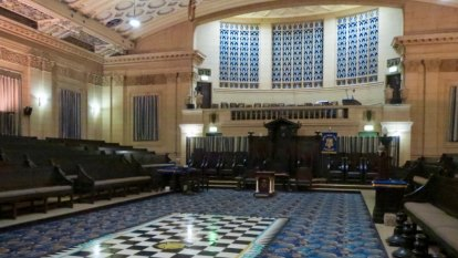 No secret handshake necessary to see Brisbane's stunning Masonic memorial