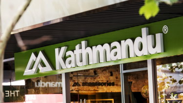 Store such as Kathmandu are fixtures on High St on both sides of the Tasman