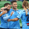 Group chat champions: Sydney FC celebrate premiership via WhatsApp