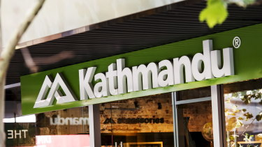 Kathmandu has closed its doors at a number of outlets.