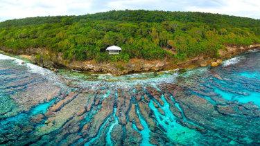 Swell Lodge on Christmas Island.