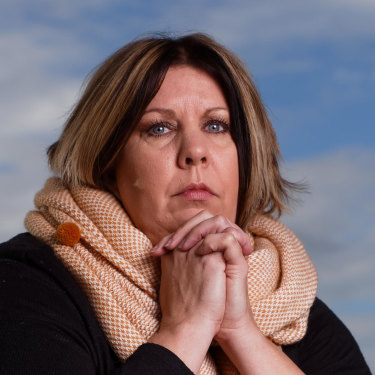 "Kathy Pritchard says her husband Mike was left ""broken"" by the Australian Border Force."