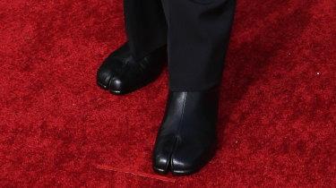 Cody Fern's 'hoof shoes'.