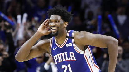 NBA career-high 49 for Embiid in 76ers win
