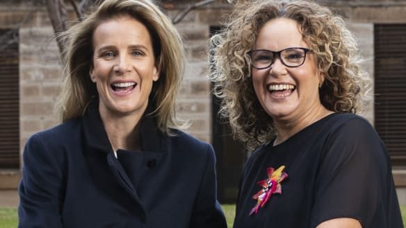Rachel Griffiths: female characters are finally getting real on screen