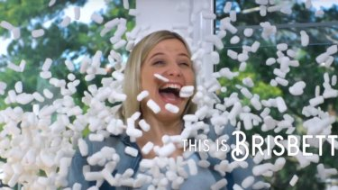 A screenshot from Brisbane City Council's 'Brisbetter' campaign.