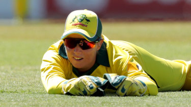 Alyssa Healy blasted Australia to victory.