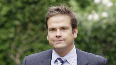 Australian businessman Lachlan Murdoch, son of News Corp. Chairman Rupert Murdoch.