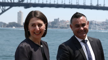 Premier Gladys Berejiklian and Trade Minister John Barilaro have launched a new investment strategy for NSW.
