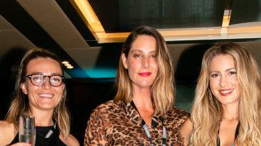 Nicole Lenarduzzi, national news director for NOVA Entertainment Michelle Stephenson and Kela brand manager Janna Miccio.