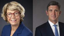 Leading Melbourne divorce solicitor Gillian Coote and divorce barrister Geoff Dickson, QC, are getting divorced.
