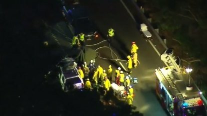 Two dead after crash in Sydney's south
