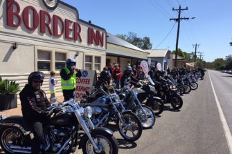 The Border Inn is a popular destination for touring motorcyclists.