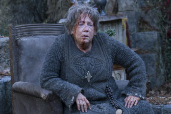 Ann Dowd in Lambs of God, her fifth nun role.