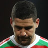 When defeat lingers: The Rabbitohs have had a week of sleepless nights to stew on their emphatic loss to the Roosters.