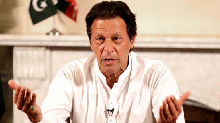 Imran Khan.