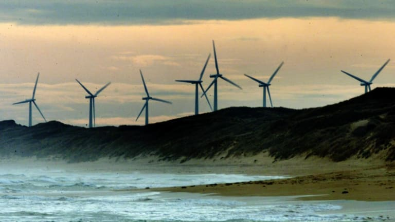 The Andrews government has commissioned six new wind and solar farms in regional Victoria.