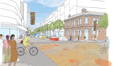 The plan to transform 'overlooked' Botany Road with offices, laneways