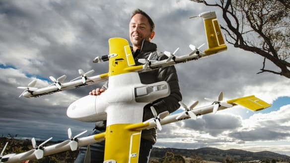 Drones could fly permanently in ACT, despite community concerns