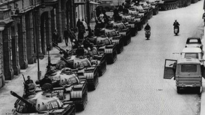 From the Archives, 1968: Soviet troops invade defiant Czechoslovakia
