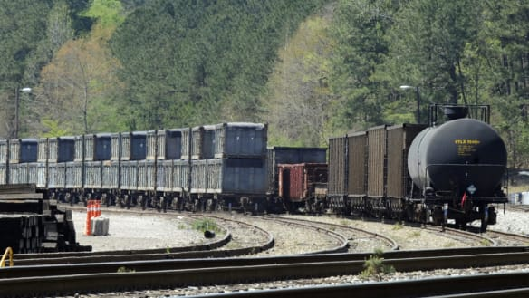 'It smells like death': Tiny US town endures a 'poop train'