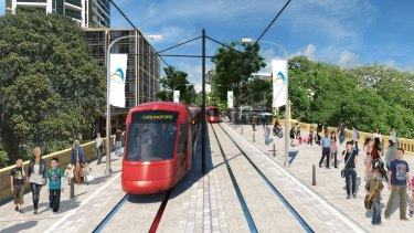 Construction will start next year on the first stage of Parramatta's light rail line.