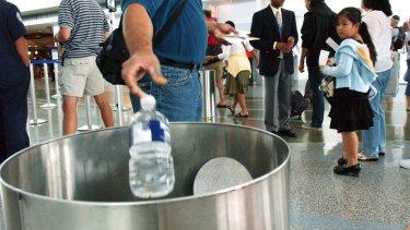 The government has considered restricting liquids on domestic flights.