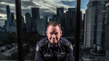 """Assistant Commissioner Ross """"The Boss"""" Guenther, head of Victoria Police Counter Terrorism Command."""