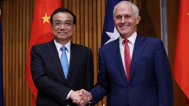 """Australia and China agreed that neither country would conduct or support cyber-enabled theft of intellectual property, trade secrets or confidential business information with the intent of obtaining competitive advantage,"" the Prime Minister's office said in a brief statement."