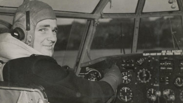 World War II pilot Dudley Marrows.