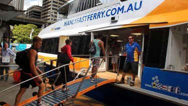 All services operated by Manly Fast Ferry will be cancelled on Thursday due to strike action.