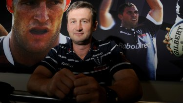 Former Rebels coach Damien Hill says he's ready to step back into a coaching position.