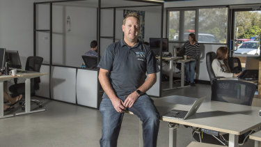 Chris Boden is looking to set up a 'firetech' startups program.