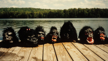 Gorilla masks have proved phonetically similar identity protectors.
