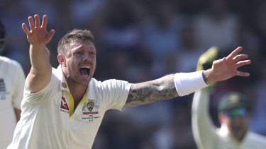 Suspended Test quick James Pattinson.