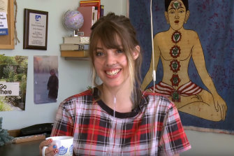 YouTuber and disability activist Claire Wineland.