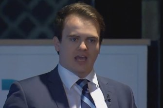 The Liberals' religious conservative grouping is centred around 30-year-old powerbroker Marcus Bastiaan.