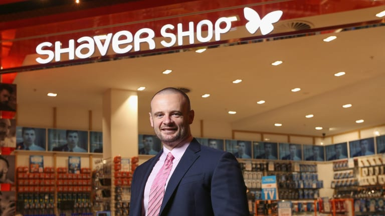 Shaver Shop chief executive Cameron Fox is driving a major expansion of the retail network in the next three years.