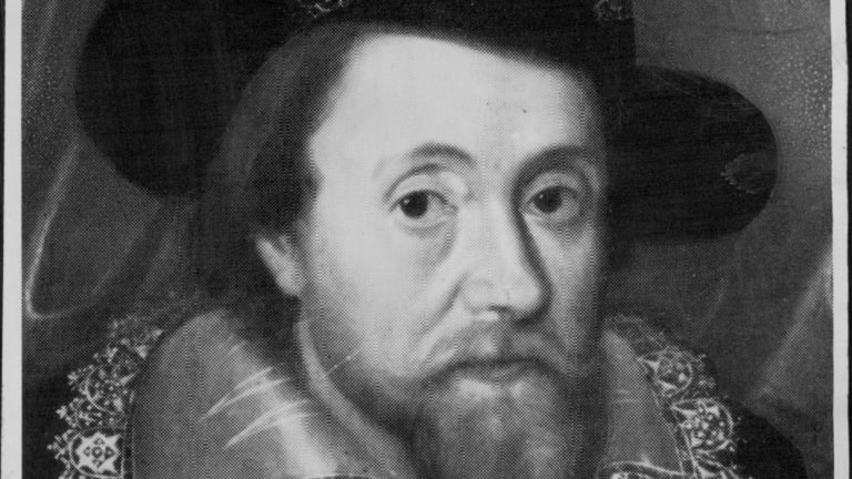 """James VI and I was rumoured to have had three male """"favourites"""" despite being married and having children."""