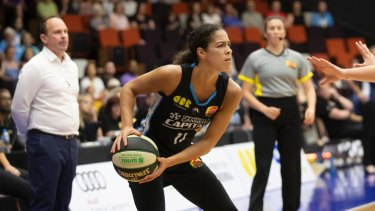 Kia Nurse has been a star for Canberra.