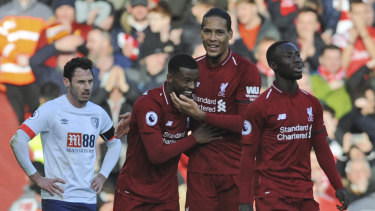 Normal service: After a couple of recent stumbles, Liverpool secured a confidence-boosting win.