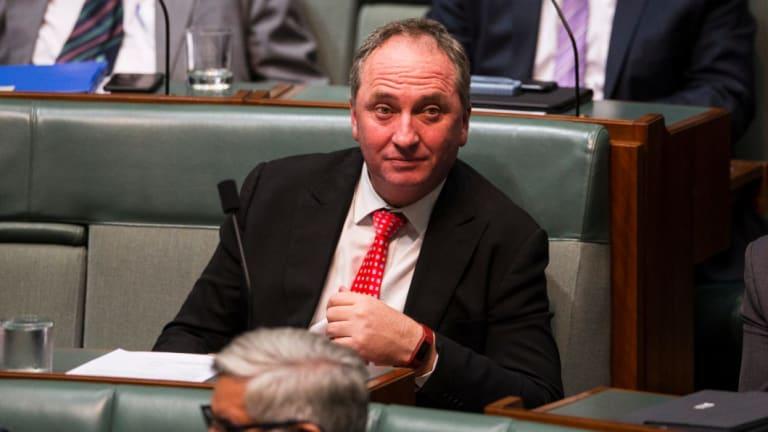 Barnaby Joyce has threatened to cross the floor if his demands aren't met.