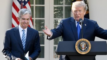 The president and JErome Powell have been at loggerheads for months.