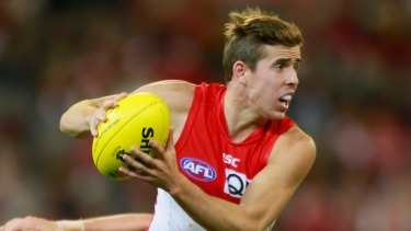 On consistency  alone,  Jake Lloyd is a likely Swans' best and fairest winner this year.