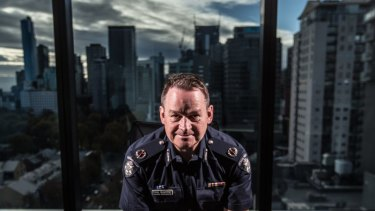 "Assistant Commissioner Ross ""The Boss"" Guenther, head of Victoria Police Counter Terrorism Command."