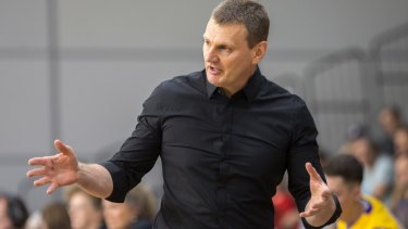 Boomers coach Guy Molloy has signed on for two more seasons with Melbourne