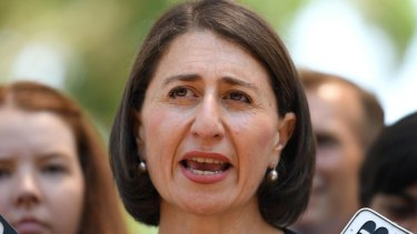 Gladys Berejiklian's government has tied itself in knots trying to distance itself from responsibility for the intensity of development in Sydney.