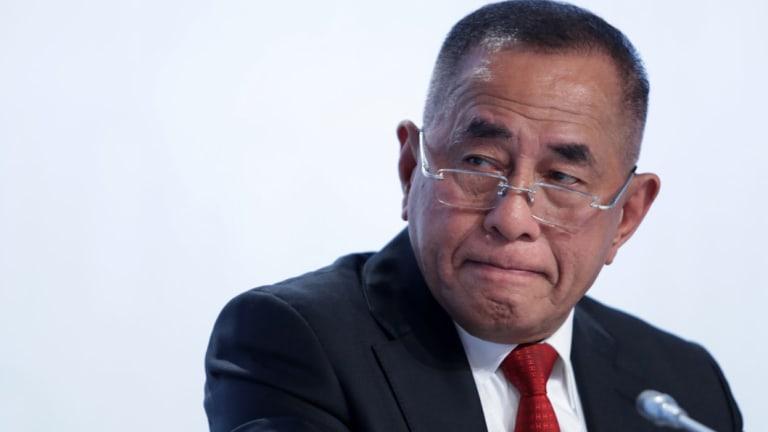 Indonesia's defence minister Ryamizard Ryacudu.