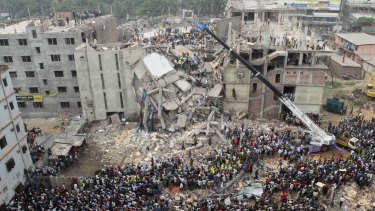 More than 1100 people died in the Rana Plaza garment factory collapse in Bangladesh in 2013.