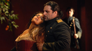 Bizet's Carmen ends with the murder of the title female role.